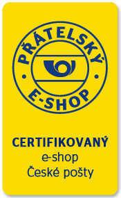 Certifikovaný e-shop - Přátelský e-shop České pošty